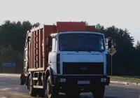 Мусоровоз КО-427-32 на шасси МАЗ-5337А2  #АА 6587-6. Беларусь, Могилёвская область, Костюковичи
