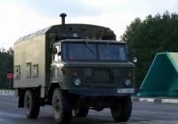 Фургон К-66 на  базе ГАЗ-66-11 #АI 1402-6. Беларусь, Могилёвская область, Костюковичи