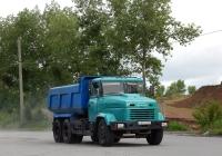 Самосвал КрАЗ-65055 # Е 817 ЕТ 31. Белгородская область, г. Старый Оскол, 1-й проезд Цемзаводской площадки