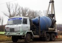 Бетоносмеситель на шасси Tatra T815 # М 991 УС 31. Белгородская область, Красногвардейский район, с. Засосна