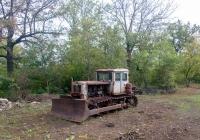 Бульдозер ДЗ-42 на тракторе Т-74. Молдова, близ с. Гиздита