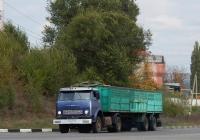 Седельный тягач МАЗ-5429 # М 905 ВР 31 с двухосным полуприцепом. Белгородская область, г. Алексеевка, ул. Заводская