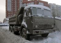 Самосвал КамАЗ-55111 #С 092 СМ 72 . Тюмень, Червишевский тракт