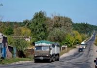 Автомобиль КамАЗ-53212 #АХ 9587 СН. Харьковская область, с. Водяное, автодорога Р-78