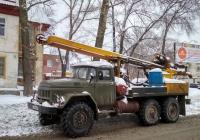 Буровая установка УРБ-2А-2 на шасси ЗиЛ-131Н #Х 008 МА 59. г. Самара, ул. Симферопольская