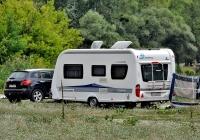 Автодом Hobby Deluxe  #АС 0149 ХР. Харьковская область, река Северский Донец