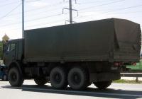 Бортовой грузовой автомобиль КамАЗ-53501 #3448 КМ 87 . Тюмень, улица 50 лет Октября