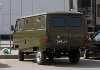 Цельнометаллический фургон УАЗ-3741 #5407 АК 76 . Тюмень, Привокзальная улица