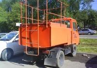 Цистерна для воды Multicar M2548 #К 124 ЕХ 72. Тюмень, Барнаульская улица