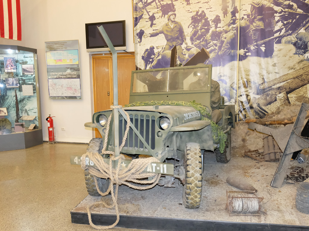 Армейский автомобиль Willys MB. Москва, Центральный музей Вооружённых Сил Российской Федерации