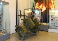Зенитно-пулемётная установка ЗПУ-2 . Москва, Центральный музей Вооружённых Сил Российской Федерации