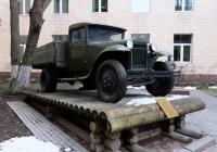 Грузовой бортовой автомобиль ГАЗ-АА  . Москва, Ленинградский проспект (территория МАДИ)
