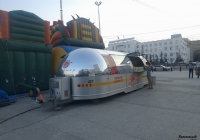 Мобильное автокафе  AFormer FF75. Якутск, Площадь Ленина