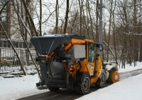Коммунальная уборочная многофункциональная машина . Москва, Авиационная улица