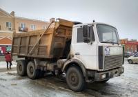 Самосвал МАЗ-5516 #Х 948 УМ 163. г. Самара, ул. Мира