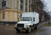 Фургон 30100А на шасси ГАЗ-3307 #У 360 АА 197. Москва, Волоколамское шоссе