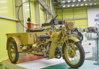 Грузовой трицикл Moto Guzzi Mototriciclo 32 . Самарская обл., пос. Петра Дубрава, ул. Климова