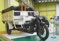 грузовой трицикл Moto Guzzi E.R.. Самарская обл., пос. Петра Дубрава, ул. Климова