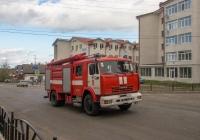 Пожарная автоцистерна на шасси КамАЗ-43253. Черновицкая область, Кицманьский район