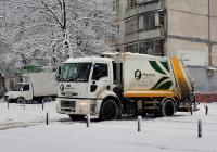 Мусоровоз HM15 (Ford Cargo 1826DC) E-3 #АХ 1767 ВК. Харьковская область, г. Харьков, Салтовское шоссе