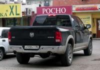 Пикап Dodge Ram #А 938 ХТ 86 . Тюмень, Ямская улица