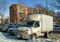 "Фургон 2818-0000010-02 на шасси ГАЗ-3302 ""Газель"" #О 029 МА 163. Самара, улица Сергея Лазо"