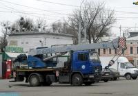 Автокран КС-45729А-С на шасси МАЗ-5340 #АХ 0863 ЕР. Харьков, площадь Национальной гвардии