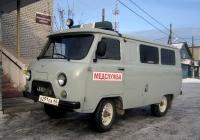 Санитарный автомобиль УАЗ-39629 #О 291 ОА 66 . Свердловская область, Луговской, Школьная улица