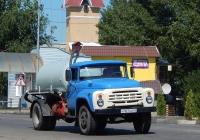 Ассенизационная машина на шасси ЗиЛ-431412 # Н 167 НО 31. Белгородская область, г. Алексеевка, ул. Маяковского