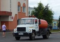 Ассенизационная машина ГАЗ-САЗ-39014-10 на шасси ГАЗ-3309 #О 129 АМ 31. Белгородская область, г. Алексеевка, ул. Тимирязева