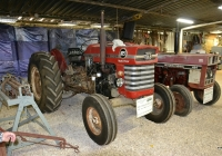 Трактор Massey Ferguson MF 165. Израиль, Эйн-Веред, тракторный музей