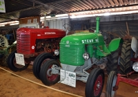 Трактор Steyr T189 (1947). Израиль, Эйн-Веред, тракторный музей