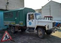Вахтовый автобус ВМ-3284 на шасси ГАЗ-3307 #А 650 ТК 163. г. Самара, ул. Больничная