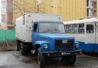 Автозак 3307-АЗ на шасси ГАЗ-3307 # 02-01 БЕМ. г. Белгород, Свято-Троицкий бульвар