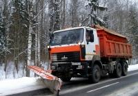 Комбинированная дорожная машина смонтирована на самосвале МАЗ-6501 #АЕ 6733-6. Беларусь, Могилёвская область, Костюковичский район