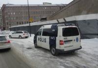 Автомобиль полиции на шасси Wolksvagen #XUP-211. Финляндия, Хельсинки