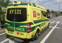 Автомобиль скорой помощи на шасси Mercedes-Benz. Финляндия, Кархула