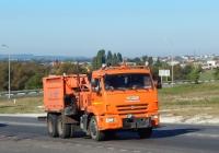 Комбинированная дорожная машина КДМ-316 на шасси КамАЗ-65115 # Н 595 УУ 31. Белгородская область, г. Алексеевка, ул. Чапаева