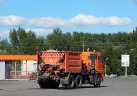 Комбинированная дорожная машина КДМ-316 на шасси КамАЗ-65115 # Н 595 УУ 31. Белгородская область, г. Алексеевка, ул. Лермонтова