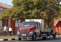 Автомобиль дорожной службы на шасси GAZon NEXT # О 137 НН 31. Белгородская область, г. Алексеевка, ул. Мостовая