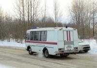 Автобус ПАЗ-32053-20 газоспасательной службы #М 046 ВН 29. Россия, Архангельская область, Новодвинск, улица Мельникова