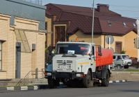 Комбинированная дорожная машина КО-829А-01 на шасси ЗиЛ-433362 # К 666 НР 40. Белгородская область, г. Алексеевка, ул. Фрунзе