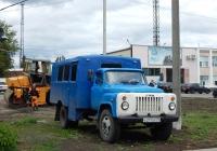 Вахтовый автобус ТС-3966 на шасси ГАЗ-53-14 # Е 217 ЕР 31. Белгородская область, г. Короча, ул. Интернациональная