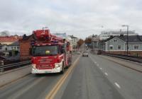Пожарный автомобиль на шасси Scania P400 #UHI-364. Финляндия Порвоо