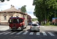 Пожарный автомобиль на шасси Scania #ERY-887. Финляндия Порвоо