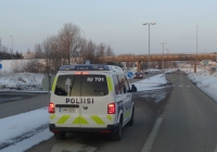 Автомобиль полиции на базе Volkswagen #INM-323. Финляндия, Ваалимаа