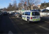 Автомобиль полиции на базе Volkswgen #VJM-567. Финляндия Хельсинки