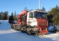Автомобиль с грузоподъёмным краном на базе Skania  #ENM-508. Финляндия Вантаа