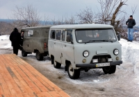 Микроавтобус УАЗ-2206 #АХ 7371 КХ. Харьковская область, Змиевской район, село Соколово
