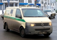 Инкассаторский автомобиль на шасси Volkswagen Transporter T5 #Н 915 ХХ 40. Россия, Калуга, улица Гагарина